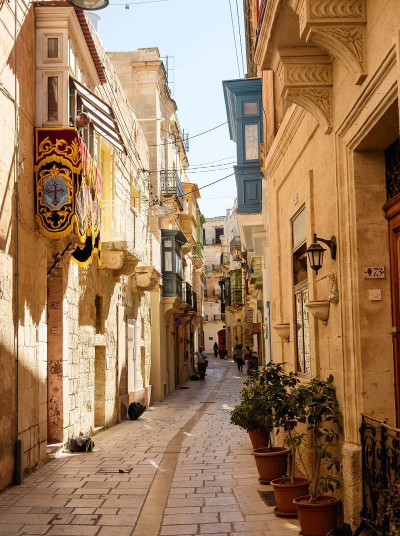 Góc phố nhỏ tại Malta