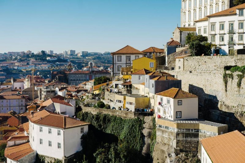 Quang cảnh thành phố lịch sử Porto