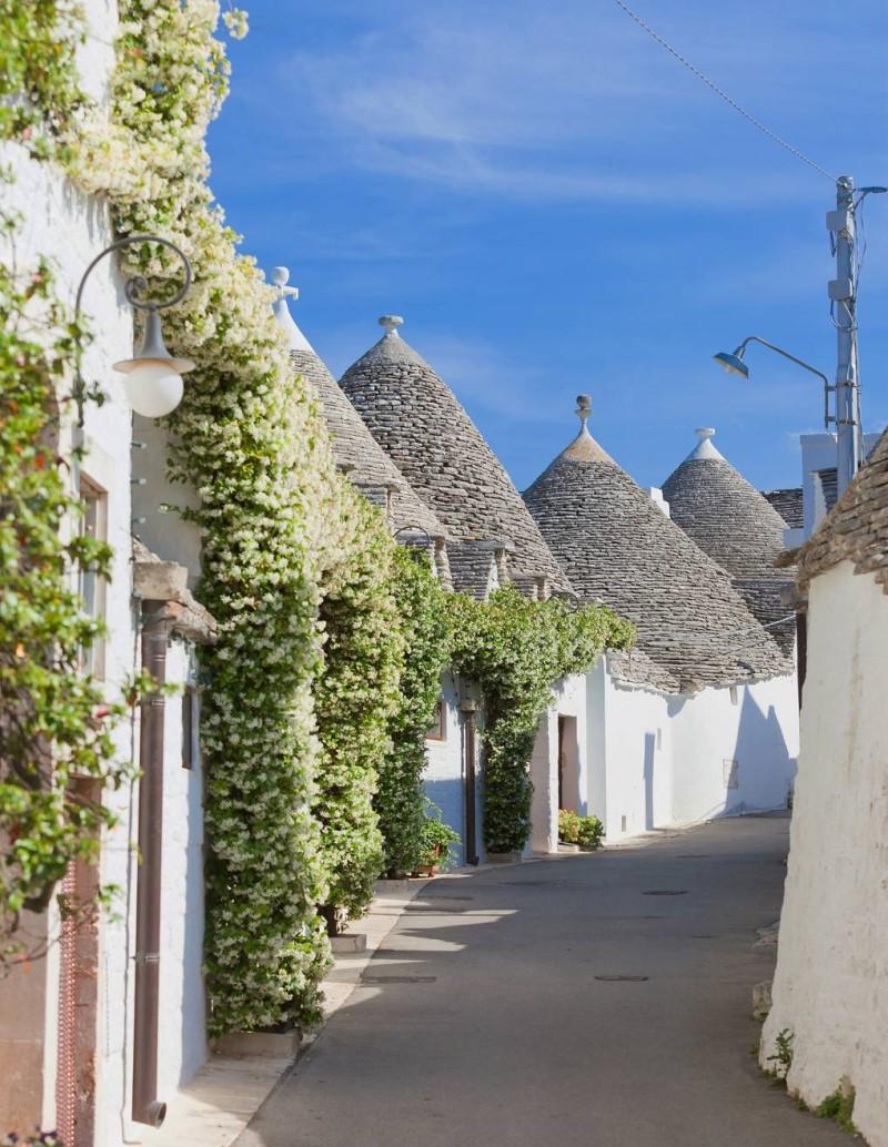 Những ngôi nhà tại bán đảo Puglia