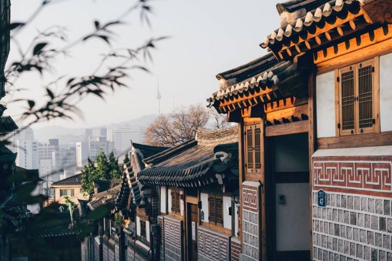 Những ngôi nhà mang kiến trúc Hàn Quốc truyền thống