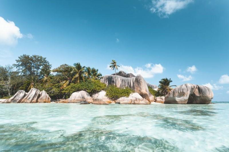 Quần đảo Seychelles trong xanh