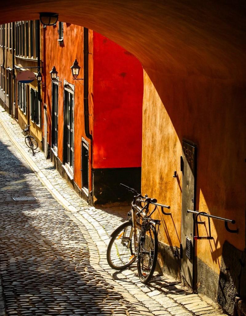 Một góc nhỏ tại thành phố Stockholm Thụy Điển