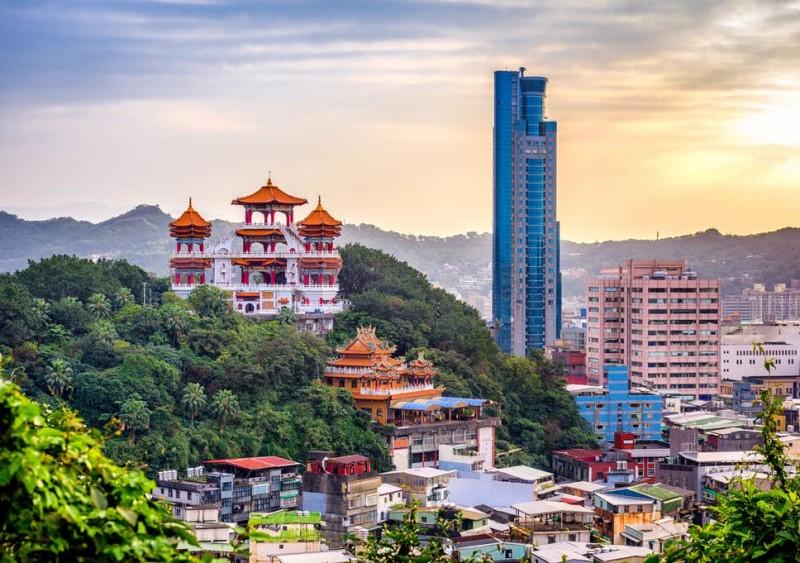 Thành phố Đài Loan mùa thu