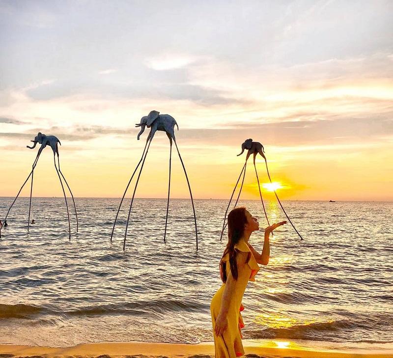 Bãi biển Phú Quốc hoàng hôn
