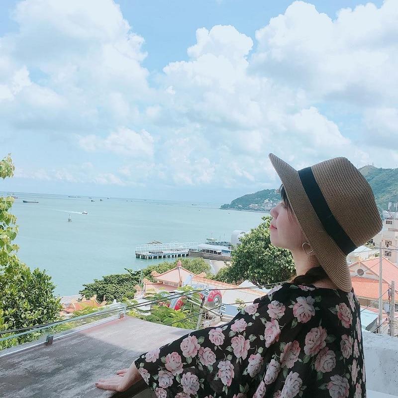 Khung cảnh trong lành tại thành phố biển Vũng Tàu