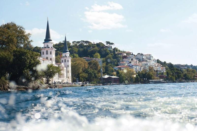 Kiến trúc độc đáo của những tỏa nhà Istanbul Thổ Nhĩ Kỳ