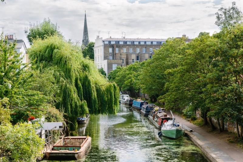 Con sông nhỏ tại thành phố London