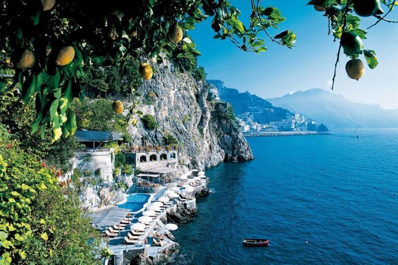Bờ biển Amalfi Ý