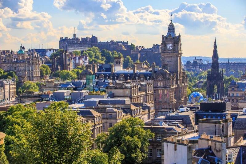 Thành phố Edinburgh tại Scotland