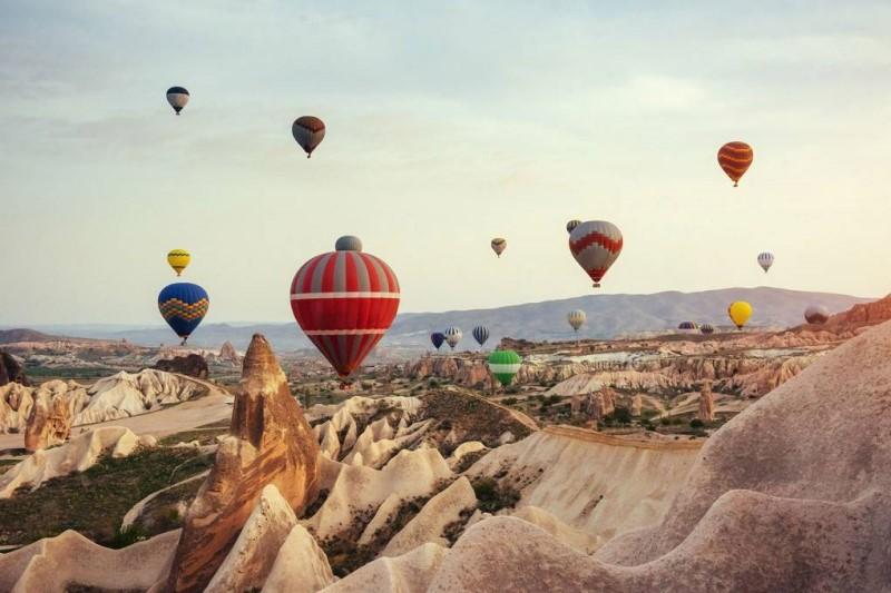 Lễ hội khinh khí cầu tại Cappadocia