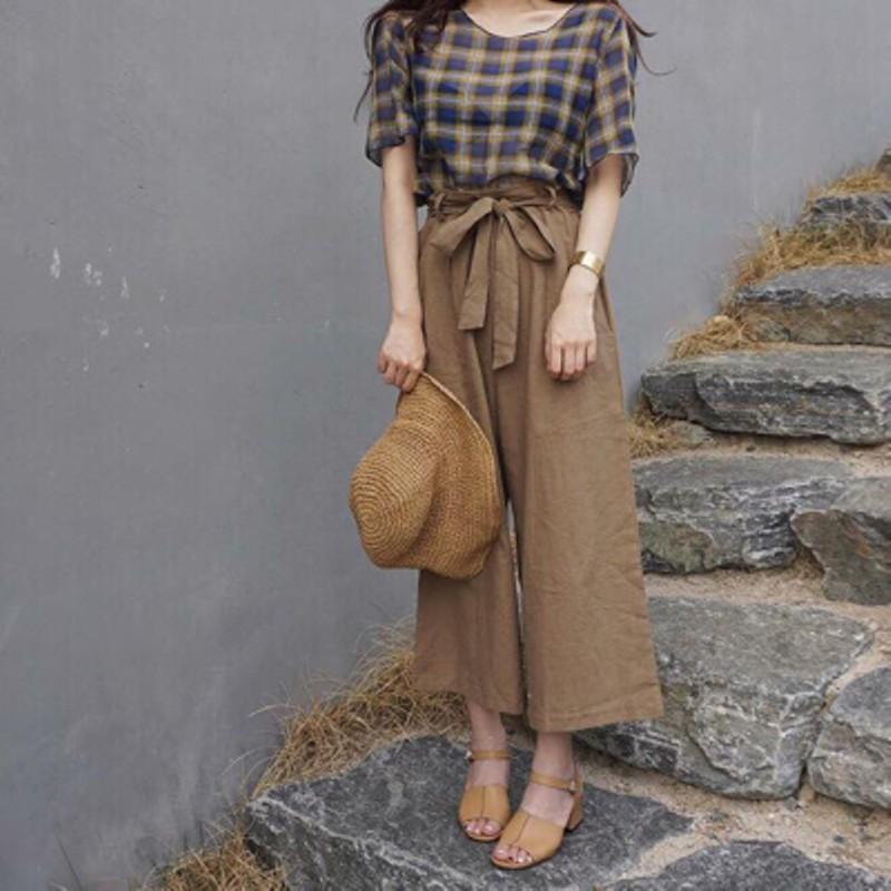 Áo và quần chất liệu vải đũi