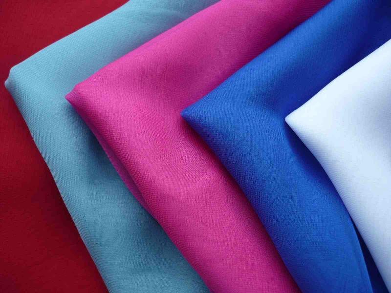 các loại vải rayon nhiều màu sắc