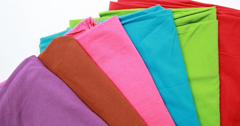 Vải cotton nhiều màu sắc