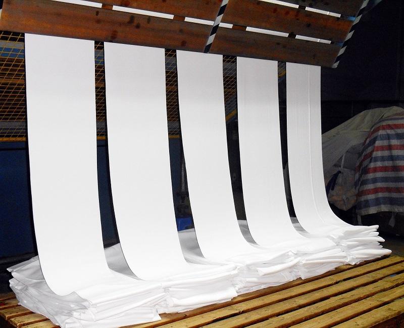công đoạn mắc sợi của vải dệt