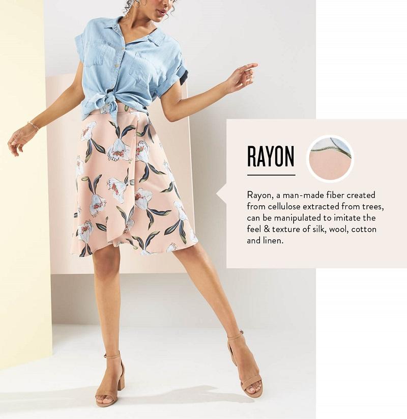 ứng dụng Rayon trong may mặc