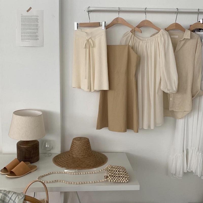 Ứng dụng vải đũi trong các trang phục thời trang