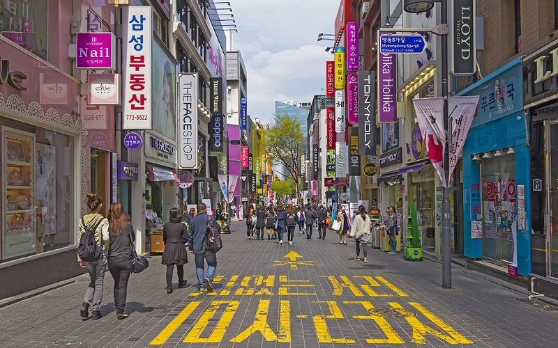 Khu chợ Myeondong