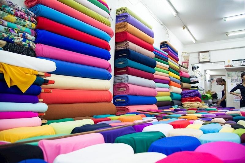 Cửa hàng bán các loại vải