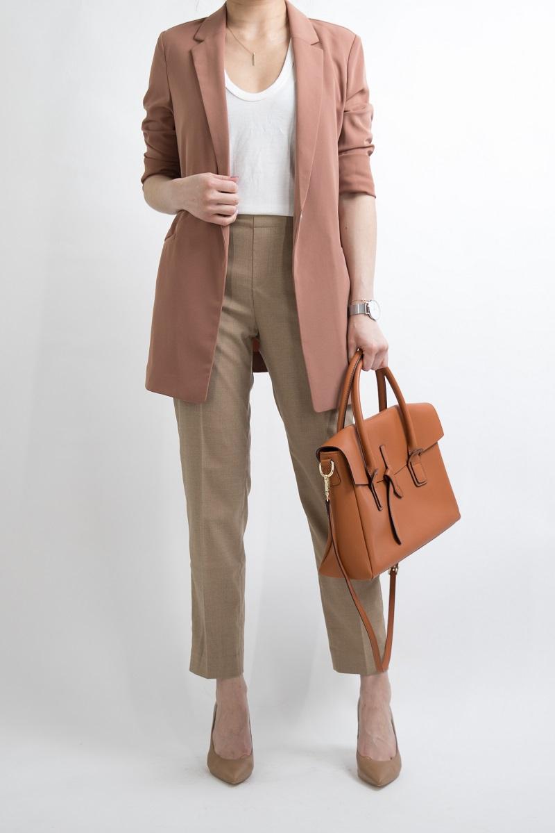 vải Kaki ứng dụng trong thời trang
