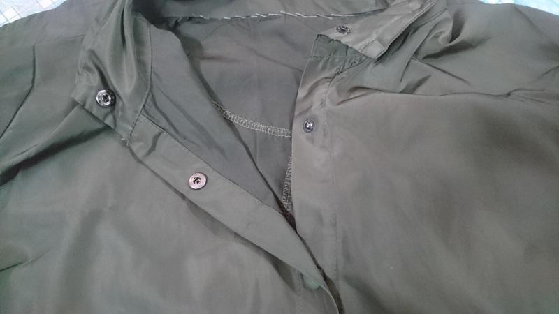 Áo được làm từ vải dù