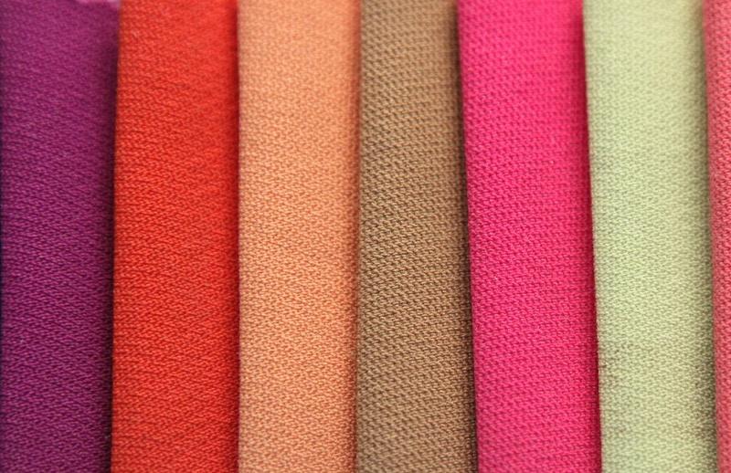 Vải cát hàn nhiều màu sắc