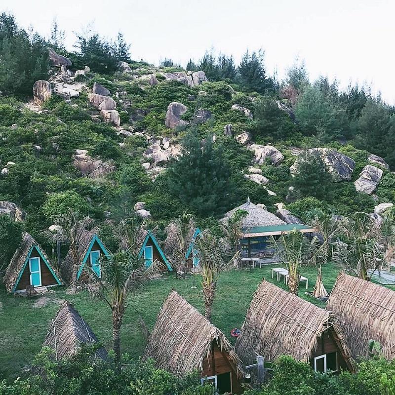 Quang cảnh của khu dã ngoại Trung Lương