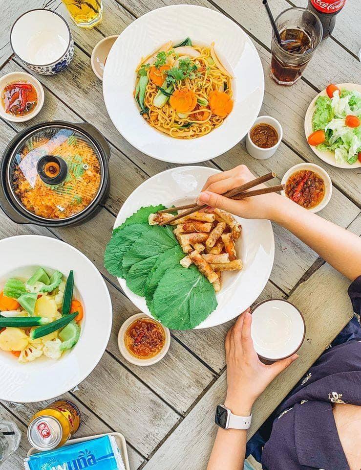 Các món ăn ở nhà hàng Trung Lương