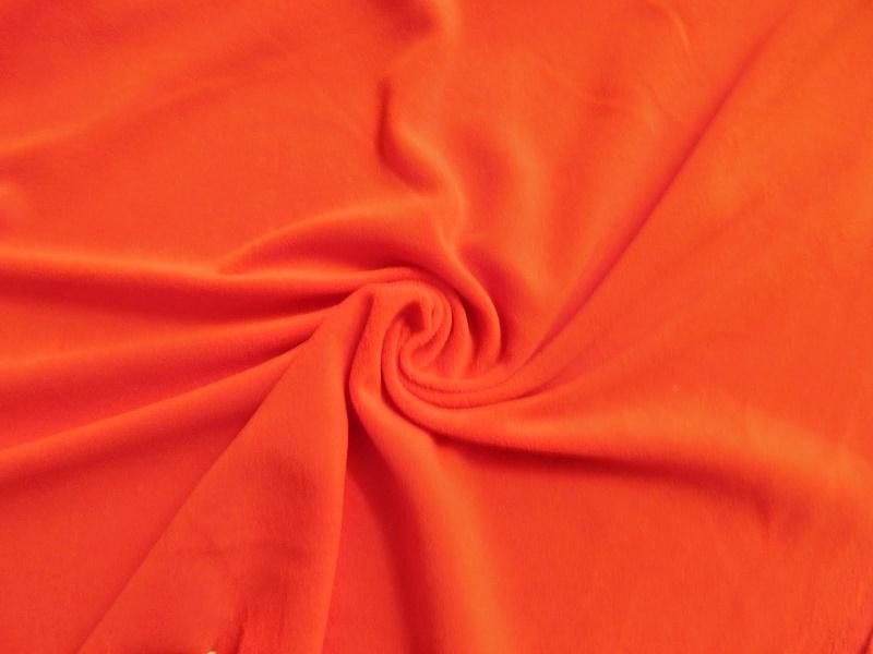 Vải nỉ màu da cam
