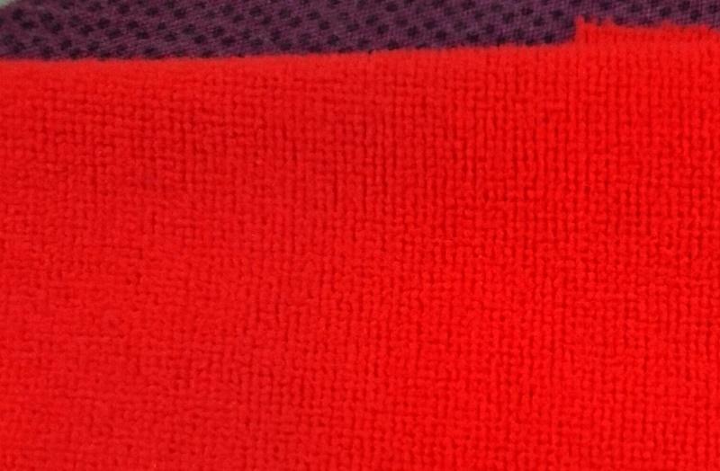 vải nỉ màu đỏ