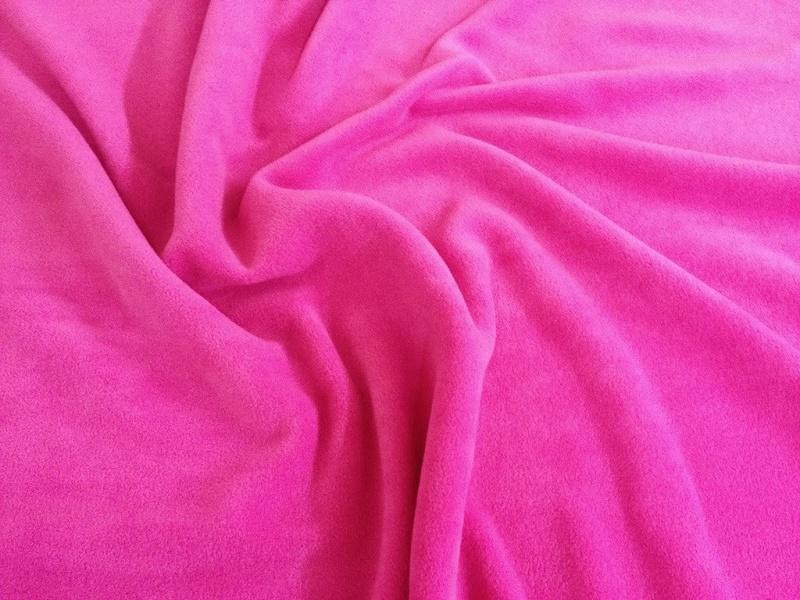 Vải nỉ Hàn Quốc màu hồng