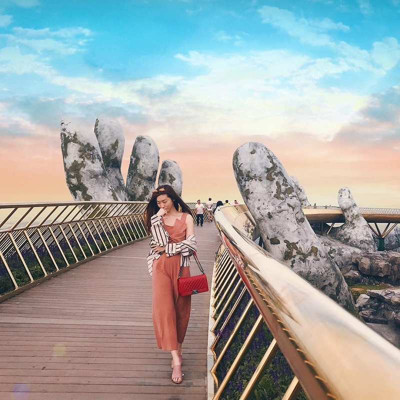 du lịch cầu Vàng Đà Nẵng