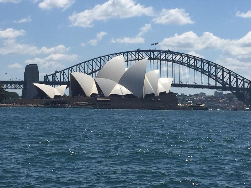 cây cầu ở thành phố Sydney Úc