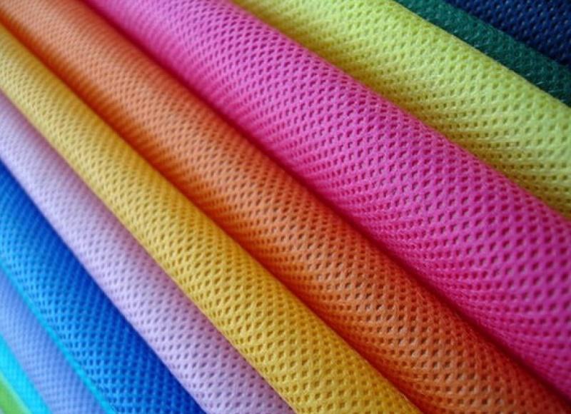 vải không dệt đa dạng nhiều màu sắc