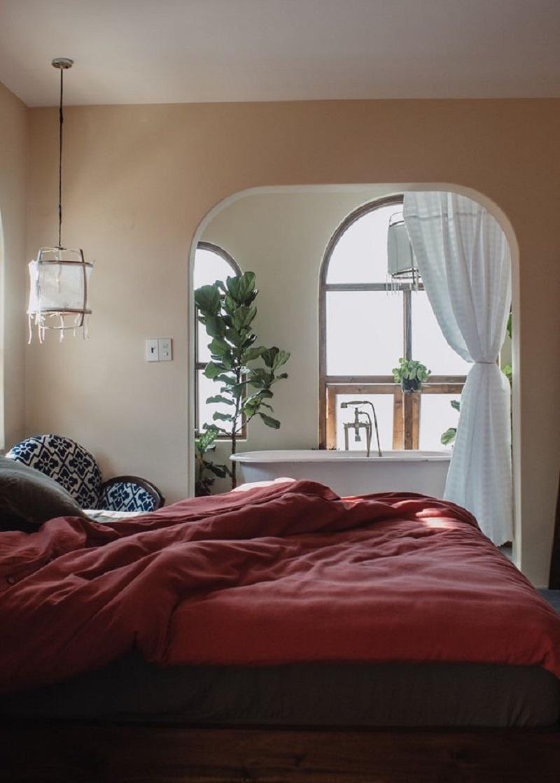 Không gian phòng mang phong cách cổ điển, pastel ở Home of Dreamers Dalat