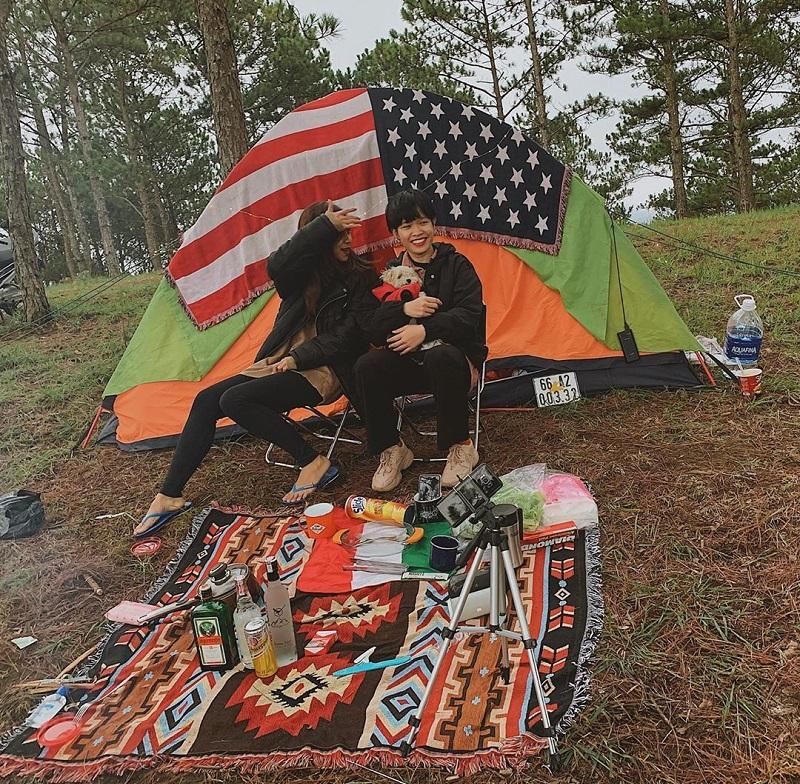 Chuẩn bị lều trại và các món đồ cắm trại cần thiết khác