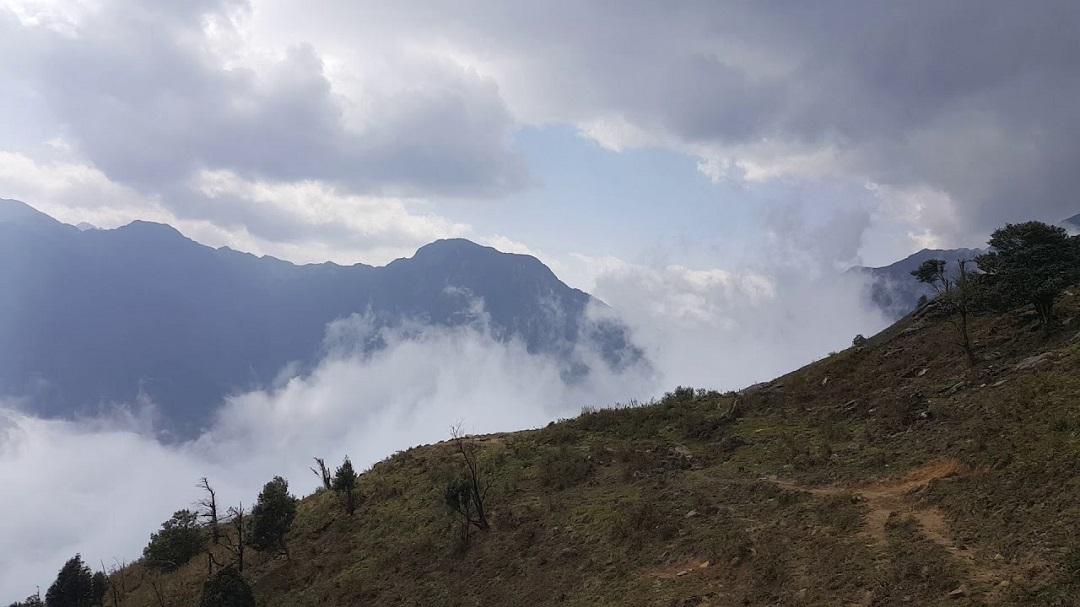 sương mù nhìu cồ san