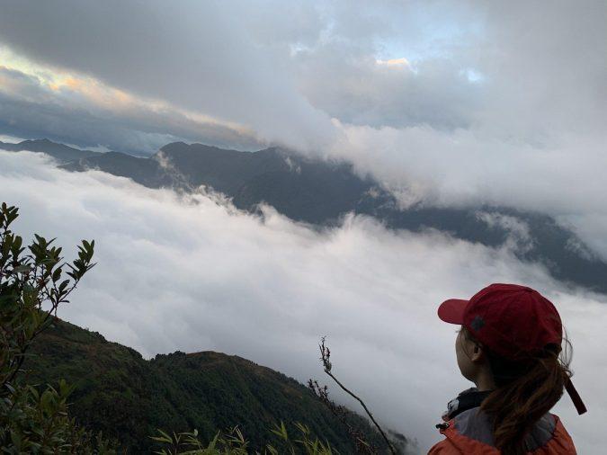 biển sương mù đỉnh Nhìu Cồ San