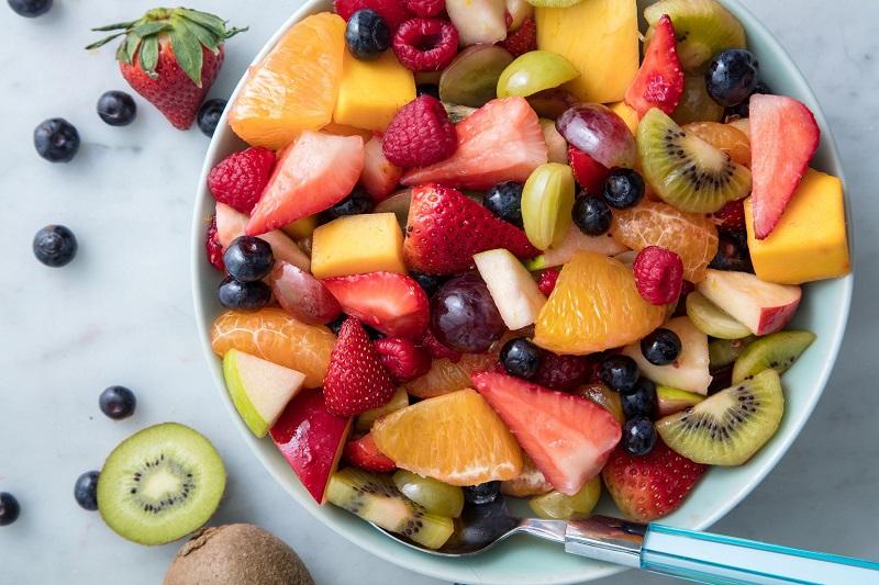 Các loại trái cây trộn hấp dẫn