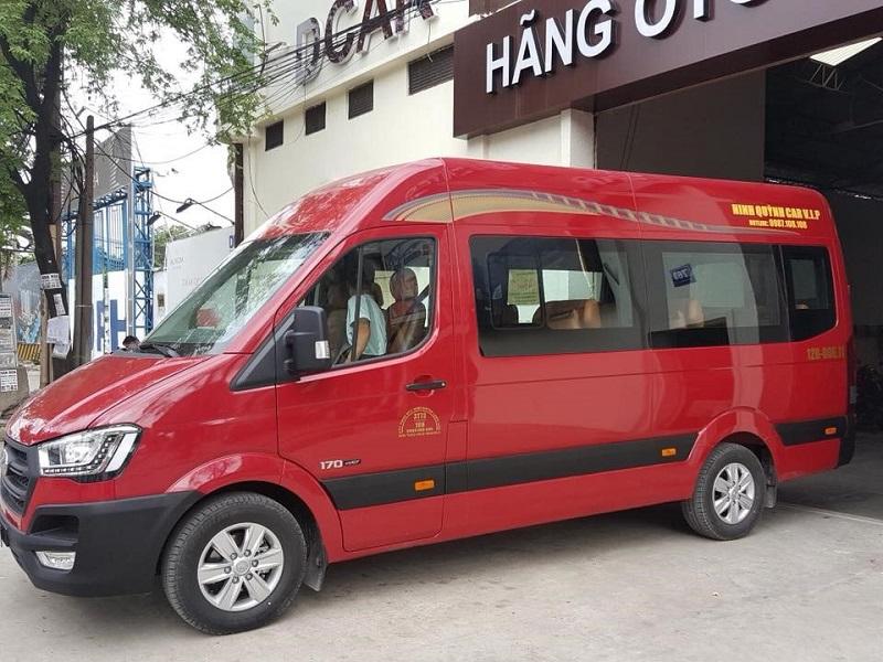 Nhà xe Ninh Quỳnh Car Vip - xe Limousine đi Hạ Long