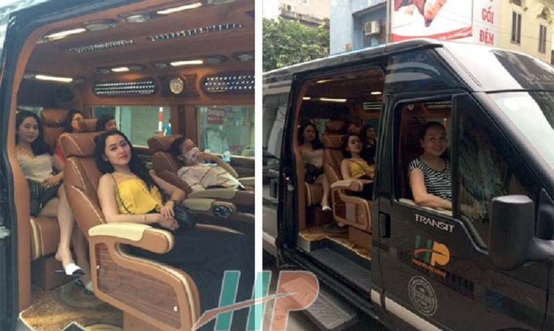 Nhà xe Hoàng Phú Limousine đi Hạ Long