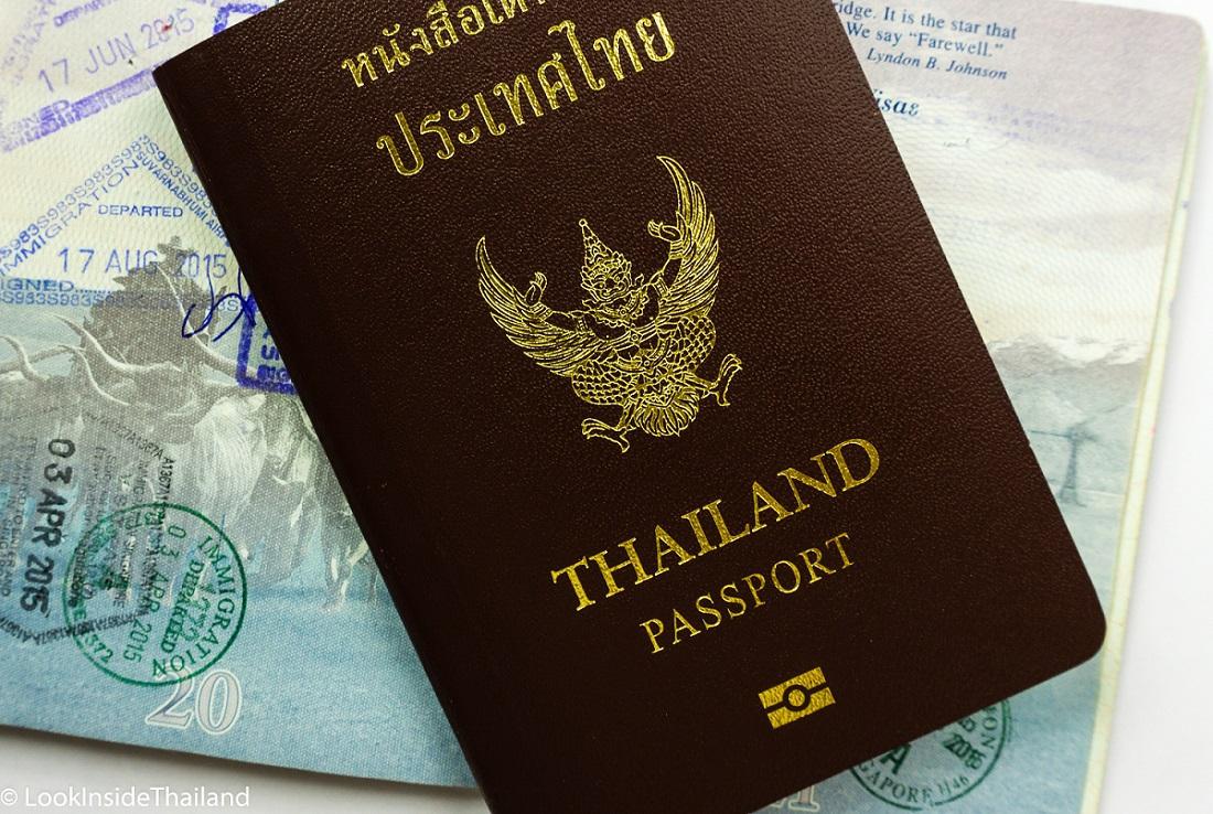hộ chiếu thái lan