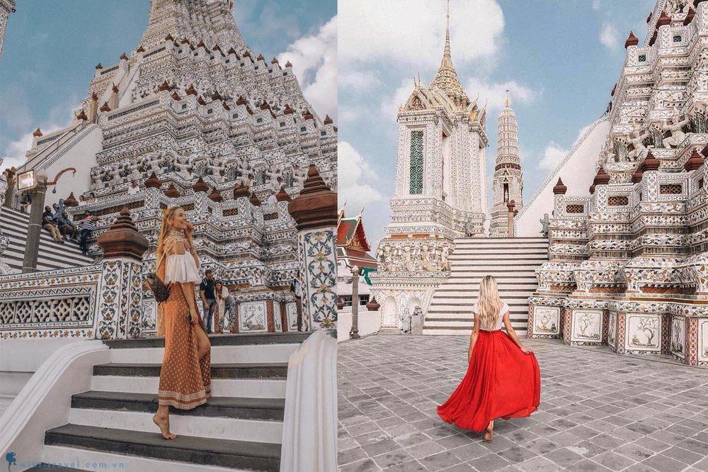 trang phục du lịch Thái Lan