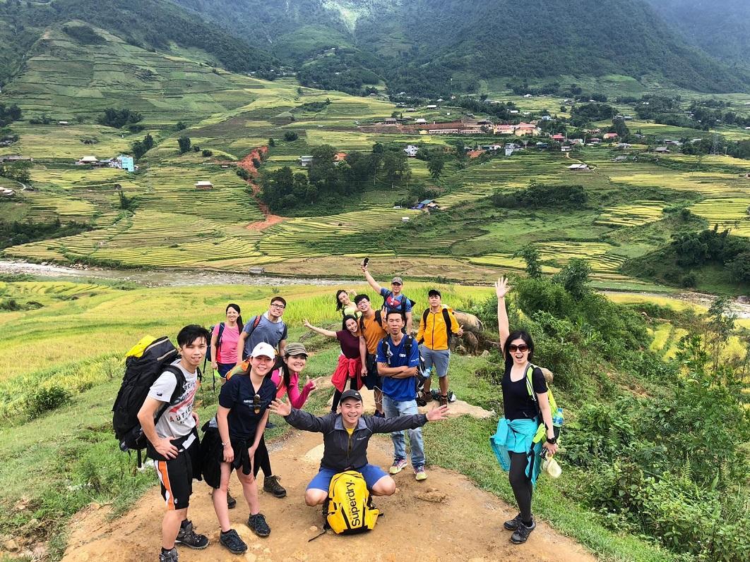 đường leo núi fansipan