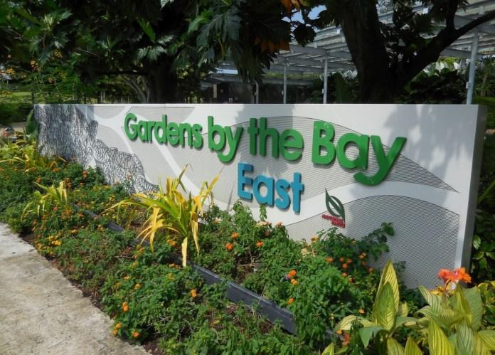 Khuôn viên khu vườn phía đông tại Gardens By The Bay