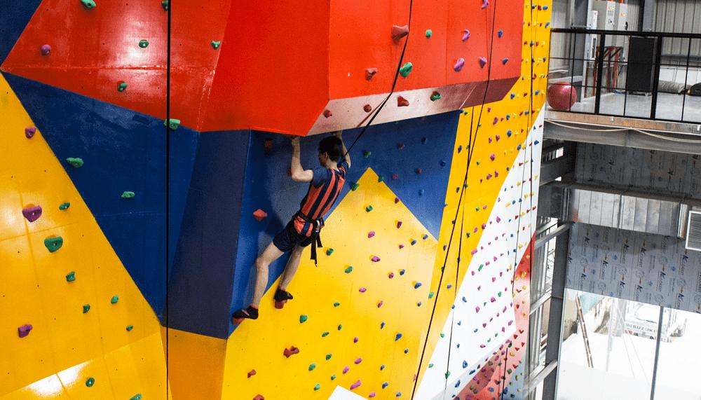 Rock climbing Jump Arena
