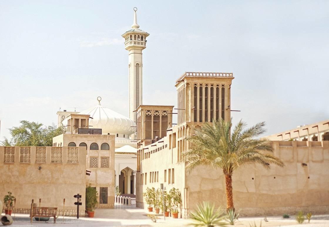 Phố cổ Al Fahidi Bastakiya