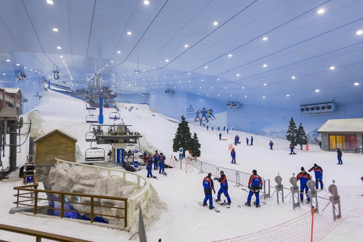 Khu vui chơi trượt tuyết nổi tiếng