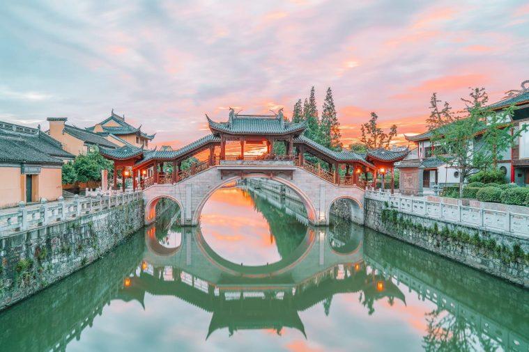 Phố cổ nổi tiếng ở Tô Châu Trung Quốc
