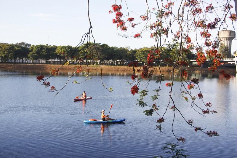 Một góc sông Hương thơ mộng