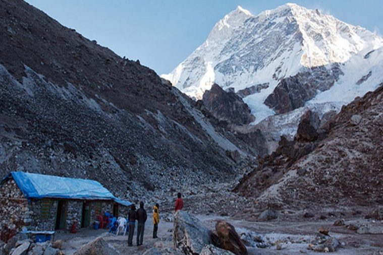 Núi Makalu (độ cao 8.485m)